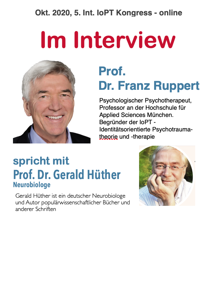 Franz Ruppert interviewt Gerald Hüther