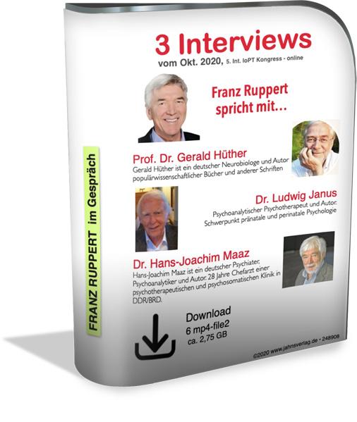 Die Interviews von Franz Ruppert zum Download