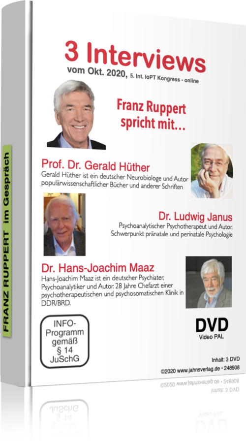 Interviews von Prof. Franz Ruppert auf dem 5. Int. Kongress Okt. 2020 auf DVD