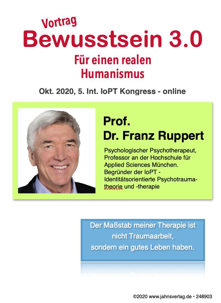 Vortragsvideo Franz Ruppert Bewusstsein 3.0