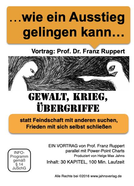 Titel wie ein Ausstieg gelingen kann Vortrag Prof. Ruppert