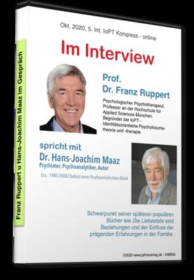 Franz Ruppert mit Hans-Joachim Maaz