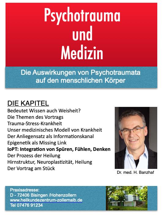 Vortrag Harald Banzhaf - Psychotrauma und Medizin